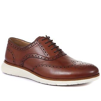 Jones Bootmaker Mens Lawrence Lace-Up Leather Brogue