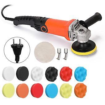 Adjustable speed car electric polisher waxing machine furniture polishing tool 1200w 220v