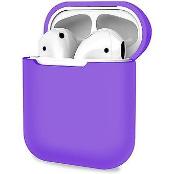 Ochranný kryt, odolné pouzdro pro Apple AirPods 1, 2 - Purple