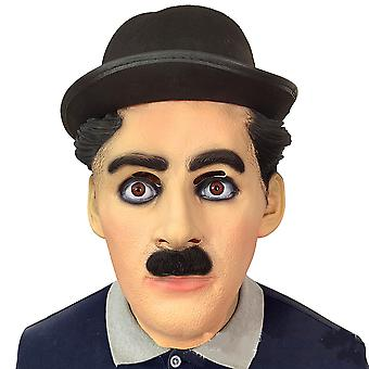 Grappige Chaplin Enge Latex Masker Halloween Mask Party Cosplay Rekwisieten