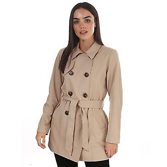 Women's Only Valerie Trench Coat in Crème
