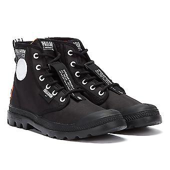 Palladium Pampa Lite Overlab Mens Black / Black Boots