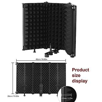 Recording Microphone Wind Screen Board Sound-absorbing Cover