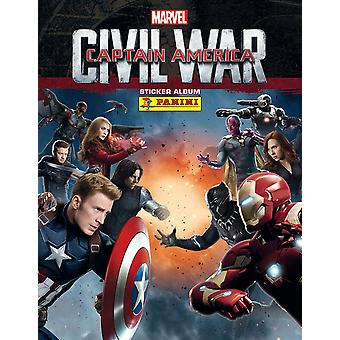 Captain America Movie Sticker Starter Pack