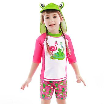 Swimsuit children's split s for boys and girls -8 years old swimwear diving suits