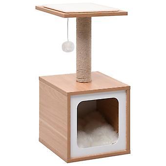 ビダXL猫は、シザルスクラッチマット62センチメートルとポストを掻く
