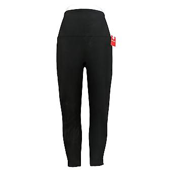 Spanx Women's Petite Pants Ankle Length Leggings Black A369379