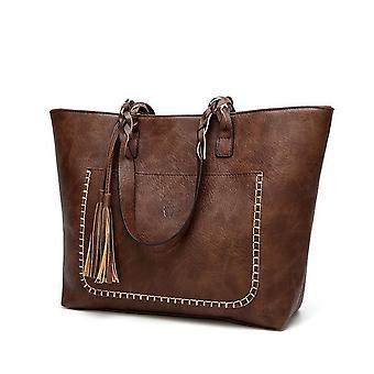 Women Shoulder Bag Female Retro Daily Causal Totes Handbag