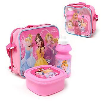 Disney Princess Girls Lunch Set (förpackning med 3)