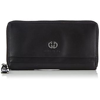 Gerry Weber Piacenza Ladies Purse L, Women's Wallet, Black (Black),, 10x19x1 cm (B x H x T)