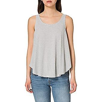 LTB Jeans Cozoga Women's Tank Top, Black White Stripes 886, XXL
