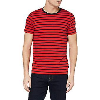 ESPRIT 990ee2k314 T-Shirt, Red (Red 3 632), Large Men's