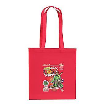 Texlab VEND-224547, Unisex Adult Cloth Bag, Color: Red, 38 cm x 42 cm
