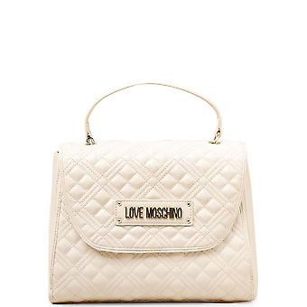 Love Moschino - Bags - Handbags - JC4206PP0CKA0-110 - Women - ivory