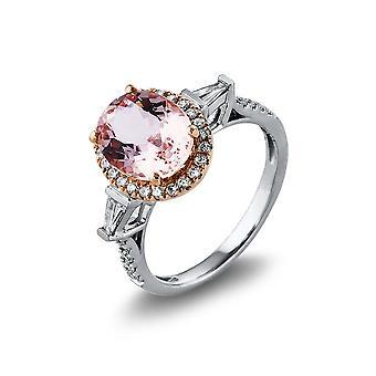 Luna Creation Promessa Ring Colorstone 1L770WR454-5 - Ancho del anillo: 54