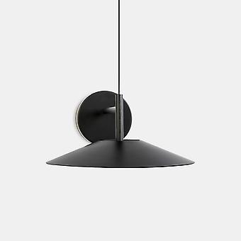 LEDS C4 H LED Domo Colgante Colgante Negro IP20 14.9W 2700K