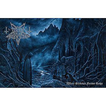 Dark Funeral - Dove le ombre regnano per sempre poster tessile