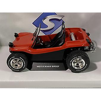 1968 Manx Buggy Convertible Red 1:18 Scale Solido 1802704