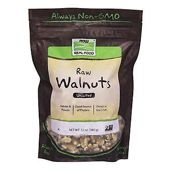 Nyt Foods Walnuts Halfs & Pieces Raw, 12 oz