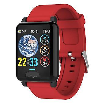 Smart Watch, Körpertemperatur, Blutsauerstoffüberwachung, wasserdichtes EKG + ppg
