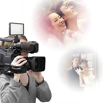 160 LED Studio videolámpa Canon Nikon fényképezőgép dv videokamera 10.5w 1280lm