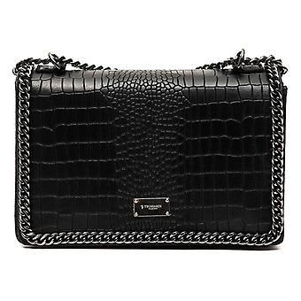 女性用ハンドバッグ トラサルディ レザー ブラック