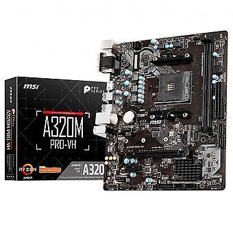 MSI A320M PRO-VH moderkort AMD A320 Socket AM4 micro ATX