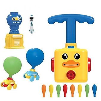 Power Balloon Launch Tower Yellow Color Toy