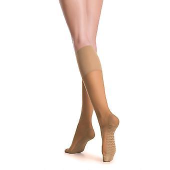Hosiery relax 20 den natural knee highs