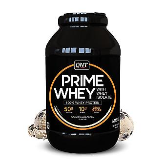 QNT Prime Whey Protein Powder 100% Whey Isolate - 2kg - Cookies and Cream