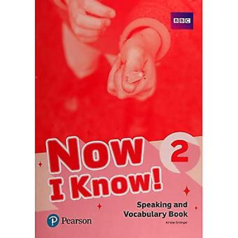 Now I Know 2 Speaking and� Vocabulary Book (Now I Know)