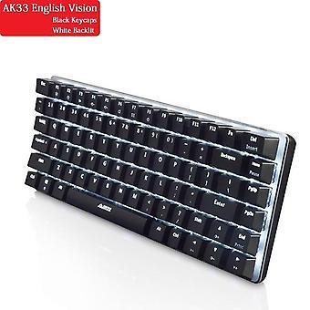 qwert mekanisk tastatur gamer tastatur (sort2)