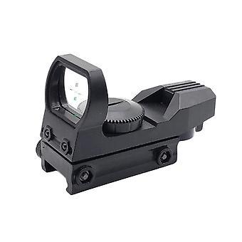 Rail Riflescope JaktOptik Holographic Red Dot Sight 4 Riktmedel Reflex Taktisk Omfattning Leksakspistol