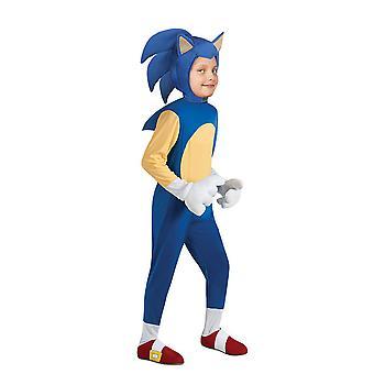 Sonic The Hedgehog Kids Boys Cosplay Kostüm Party Jumpsuit Kostüm Kostüm