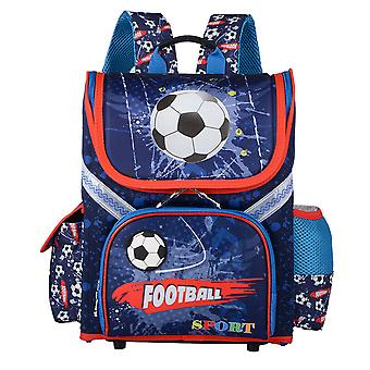 Skolryggsäck i fotbollsstil för barn