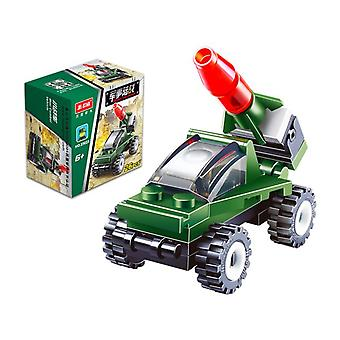 כבאית בניין אבני בניין חינוך לגיל הרך צעצועים פלסטיק צעצועים 20023