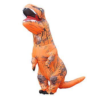 Orange Adult Tyrannosaurus Rex felfújható jelmez felnőtt dinoszaurusz jelmez