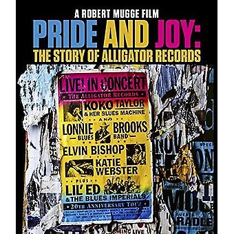 Pride and Joy: The Story of Alligator Records [Blu-ray] USA import