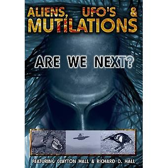 Aliens Ufos & Mutilations-Are We Next [DVD] USA import