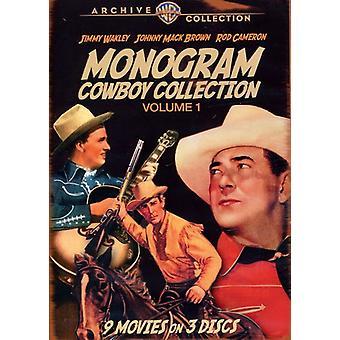 Monograma vaquero Colección: Volumen 1 [DVD] USA importar