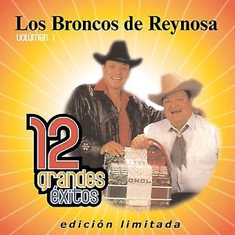 Los Broncos De Reynosa - Los Broncos De Reynosa: Vol. 1-12 Grandes Exitos [CD] USA import