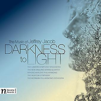 Jacob / Spalding / Jacob / New England Str Qrt - Darkness to Light-the Music of Jeffrey Jacob [CD] USA import