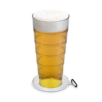 Party to go mega glass 1.5 litre in mini-format prank beer