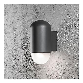 Luce della rondella della parete nera a forma di pillola KONSTSMIDE Sassari