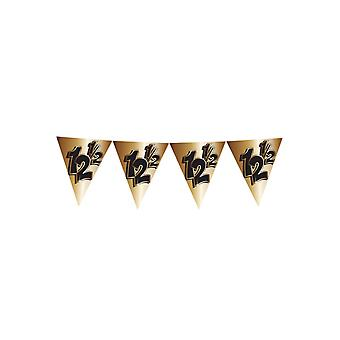 Party favors  Flags line 4 m 12.5 bronze