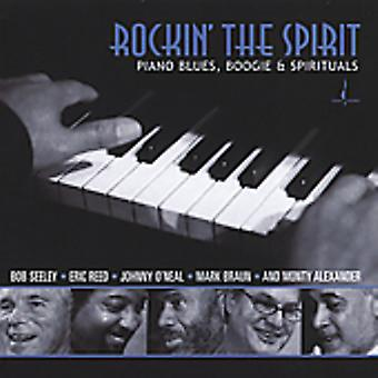 Rockin' the Spirit - Piano Blues Boogie & Spirituals [CD] USA import