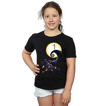 Disney flickor mardrömmen för jul kyrkogården T-Shirt