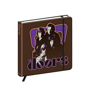 The Doors Notebook 70s Panel band logo new Official hardback journal