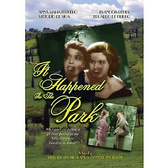It Happened in the Park (Villa Borghese) [DVD] USA import