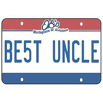 Ohio - bedste onkel licens plade bil luftfriskere